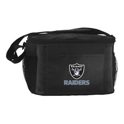 6 Can NFL Cooler NFL Team: Oakland Raiders