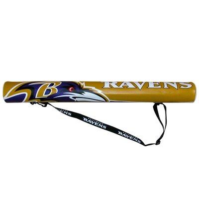 6 Can NFL Shaft Cooler NFL Team: Baltimore Ravens