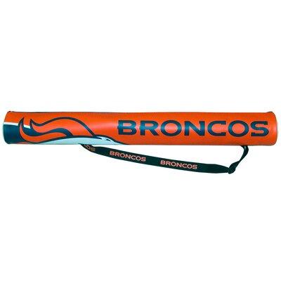 6 Can NFL Shaft Cooler NFL Team: Denver Broncos
