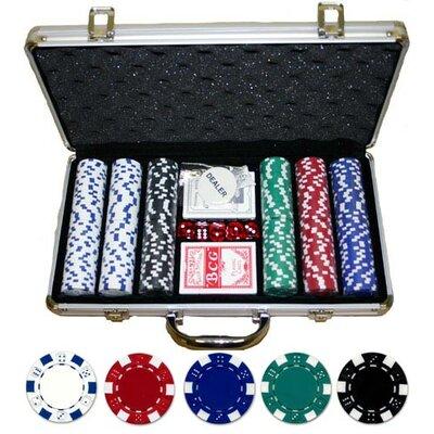 JP Commerce 300 Piece Dice Poker Set