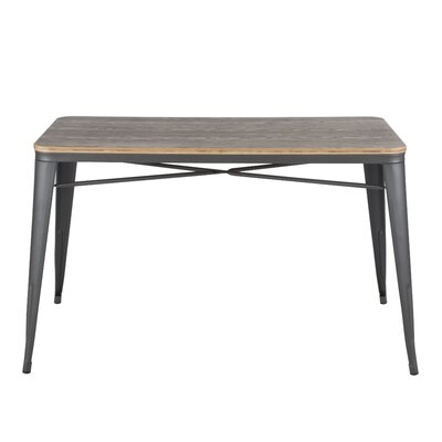 Claremont Dining Table Base Finish: Matte Grey