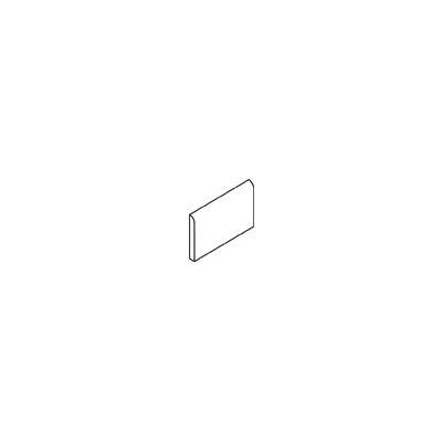 """Daltile Rittenhouse Square 6"""" x 3"""" Bullnose Tile Trim in Suede Gray"""