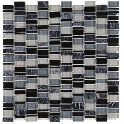 Clio Random Sized Glass Mosaic Tile in Boreas