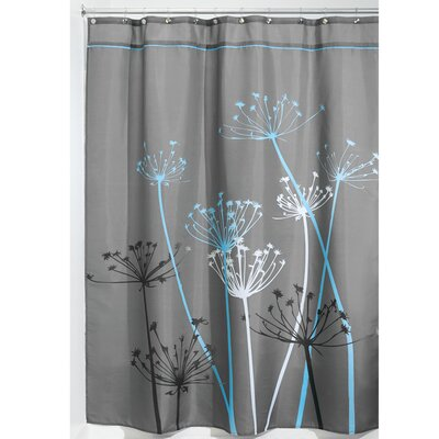 Nardi Shower Curtain Color: Blue