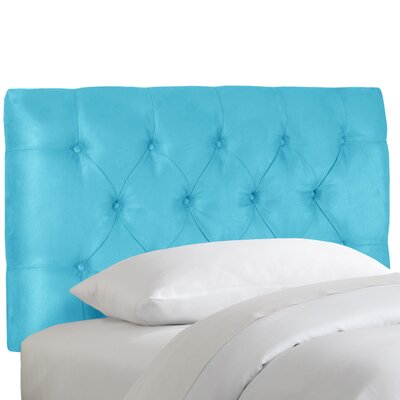 Skyline Furniture Premier Tufted Microsuede Upholstered Headboard