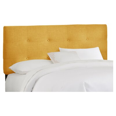 Parnell Tufted Upholstered Headboard Size: California King, Color: French Yellow