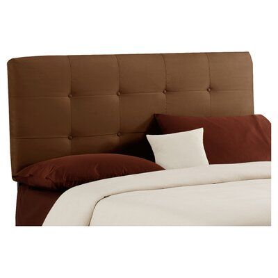 Parnell Tufted Upholstered Headboard Size: Queen, Color: Chocolate