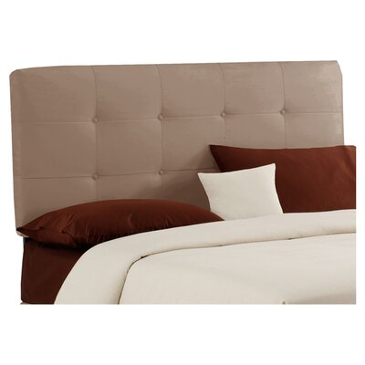 Parnell Tufted Upholstered Headboard Size: California King, Color: Cocoa
