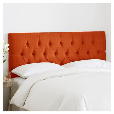 Leighton Tufted Polyester Upholstered Headboard Size: King