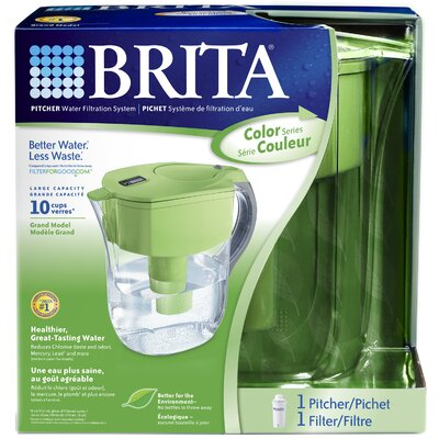 Brita Green Grand Pitcher Water Filtration System