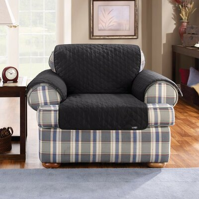 Sure Fit Cotton Duck Armchair Slipcover