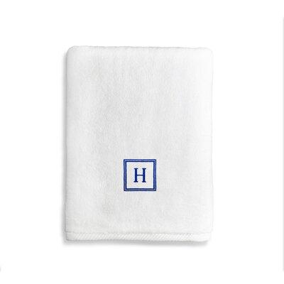 Personalized Soft Twist Turkish Cotton Bath Towel Letter: Y
