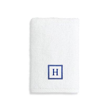 Personalized Soft Twist Turkish Cotton Hand Towel Letter: C