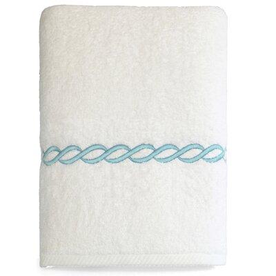 Willow 100% Cotton Bath Towel Color: Sky Blue