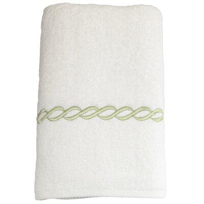 Willow 100% Cotton Bath Towel Color: Light Green