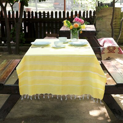 Rische Turkish Cotton Pestemal Color: Sunshine Yellow