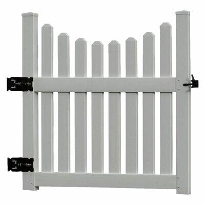 4' x 4' Cottage Picket Gate