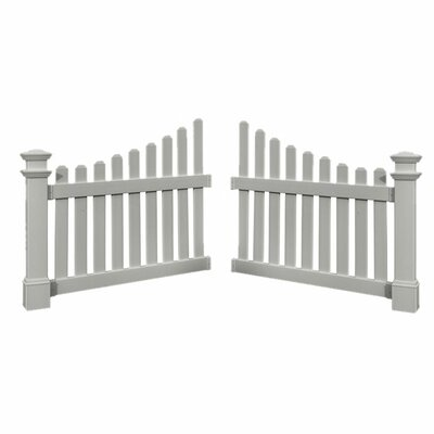 3.3 ft. x 4.1 ft. Cottage Picket Wings