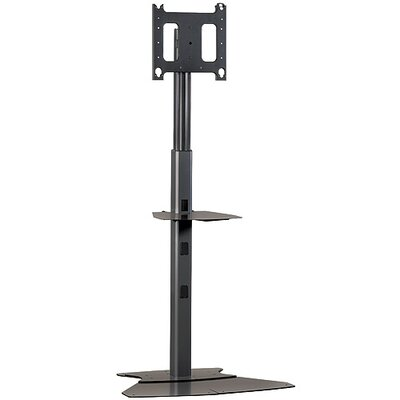 "Mobile Carts, Stands & Accessories Tilt Floor Stand Mount for up to 65"" Flat Panel Screens Finish: Black"