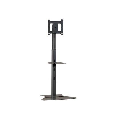 "Adjustable Medium Tilt Floor Stand Mount for 30"" - 50"" Plasma/LCD Finish: Black"