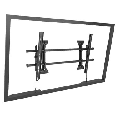 "Extra Large Fusion Micro-Adjustable Tilt Wall Mount for Greater than 50"" Flat Panel Screens"