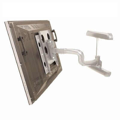 """Reaction Series Single Articulating Arm Tilt/Swivel Universal Wall Mount for up to 65"""" LCD/Plasma"""