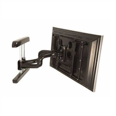 PNR Dual Articulating Arm/Tilt/Swivel Universal Wall Mount for Plasma/LCD Finish: Black