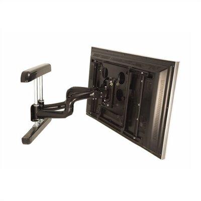 PNR Dual Articulating Arm/Tilt/Swivel Universal Wall Mount for Plasma/LCD Finish: Black