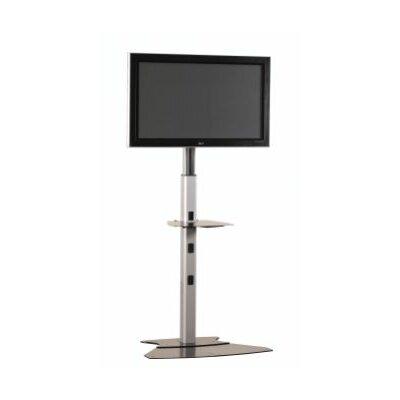"Medium Tilt Universal Floor Stand Mount for up to 50"" Plasma/LCD Finish: Silver"