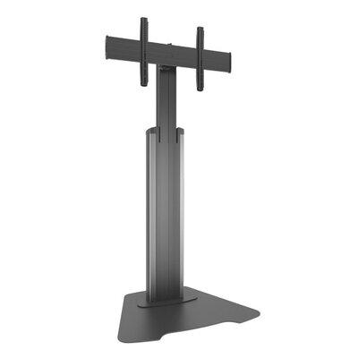 Large Fusion Manual Height Adjustable Floor Stand Custom Interface: LFAUS