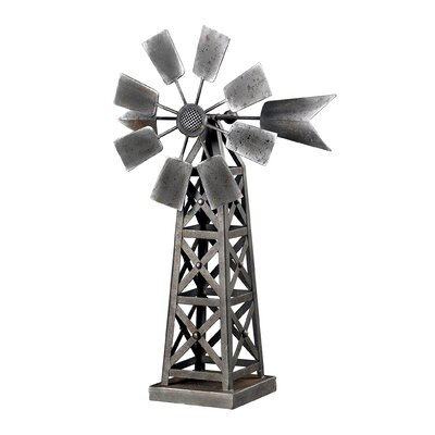 Sterling Industries Industrial Wind Mill Sculpture