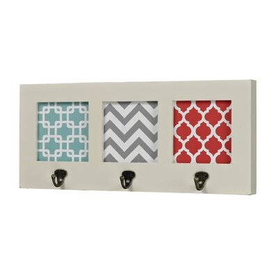 Monte Chevron Print Wall Hook