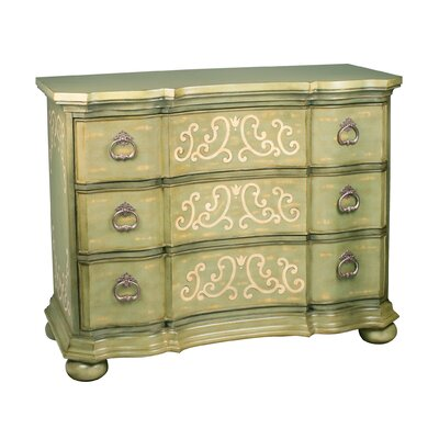 Howarth Scroll 3 Drawer Chest
