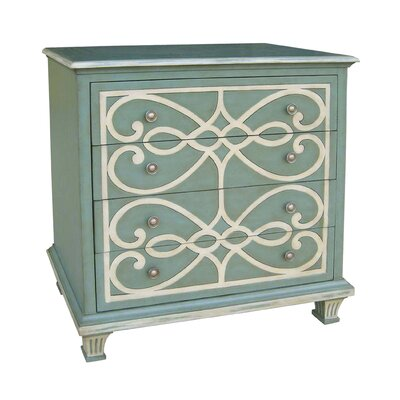 Pulido 4 Drawer Chest