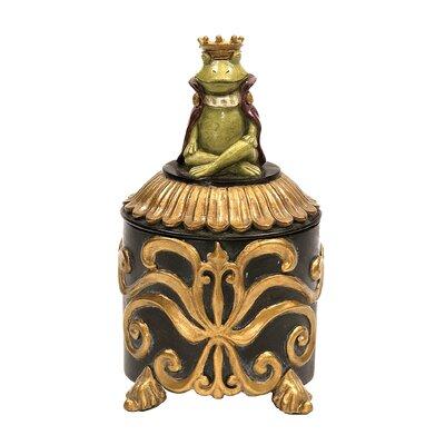 Sterling Industries Prince Frog Vanity Box