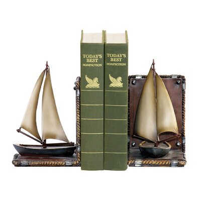 Sterling Industries Sailboat Book Ends
