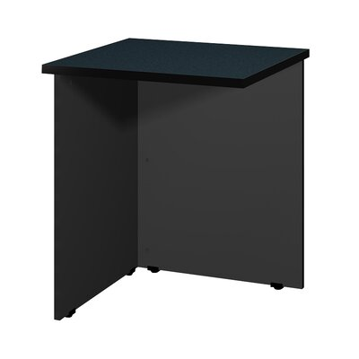 "Modular 28.38"" H x 23.75"" W Desk Bridge Finish: Oiled Cherry / Black"