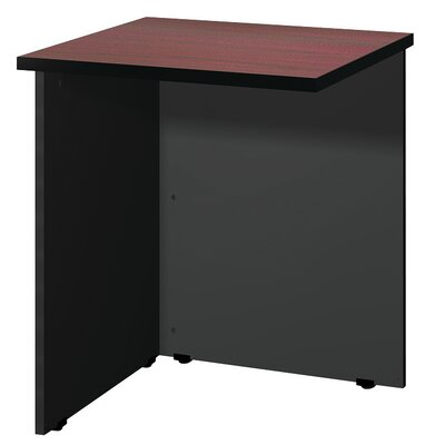 "Modular 28.38"" H x 23.75"" W Desk Bridge Finish: Mahogany / Black"