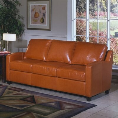 Omnia Leather Chelsea Deco Leather Sofa