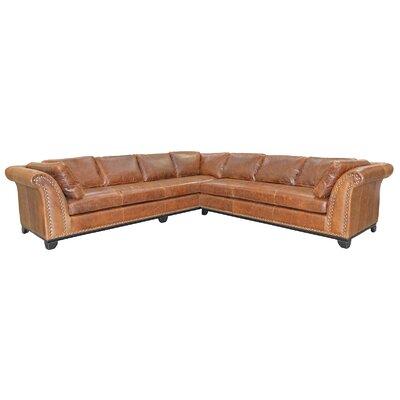 Kingsley 4 Piece Leather Living Room Set