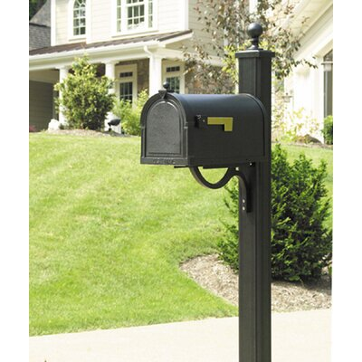 Berkshire Curbside Mailbox with Post Included Color: Copper