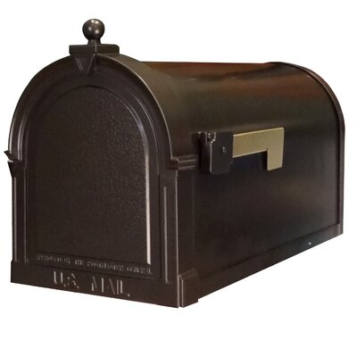 Berkshire Post Mounted Mailbox Color: Oil Rubbed Bronze