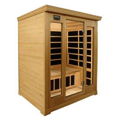Crystal Sauna Luxury Series 3 Person Carbon FAR Infrared Sauna