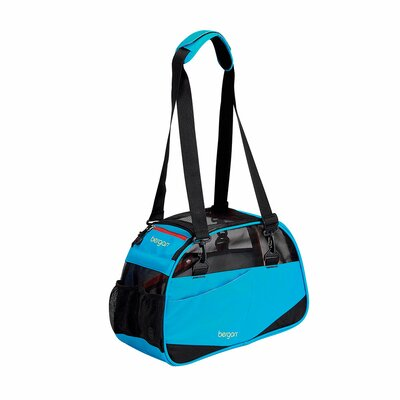 """Voyager Pet Carrier Size: Small (11.5"""" H x 8"""" W x 17"""" D), Color: Bright Blue"""