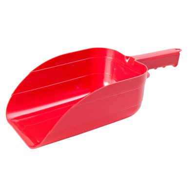 Feed Scoops in Red