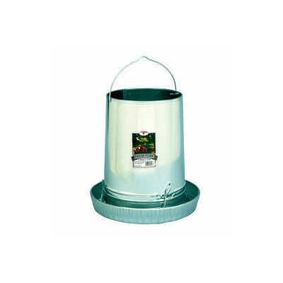 Hanging Poultry Feeder with Pan Size: 30 lbs