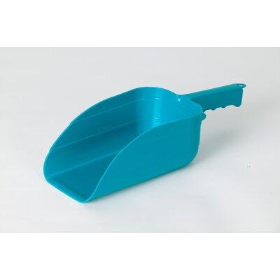 Plastic Utility Scoop Color: Teal