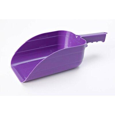 Plastic Utility Scoop Color: Purple