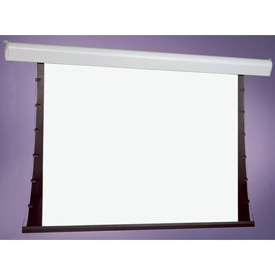 "Silhouette Series V Gray Electric Projection Screen Size/Format: 84"" diagonal / 4:3"