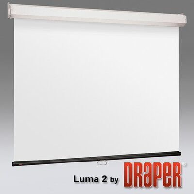 "Luma 2 with Ar Manual Gray Electric Projection Screen Size/Format: 100"" / 16:9"
